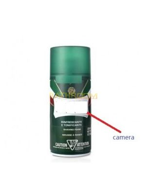 Shaving Cream Hidden Camera 1080P DVR Motion Detection Record
