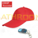 Red hat Hidden Camera Remote control 1080P Full HD tiny Pinhole spy hidden camera