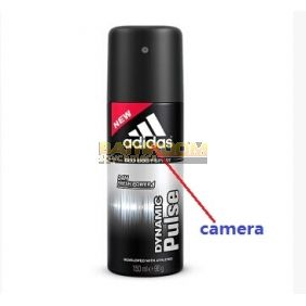 Hd Bathroom Spy Camera Body Spray